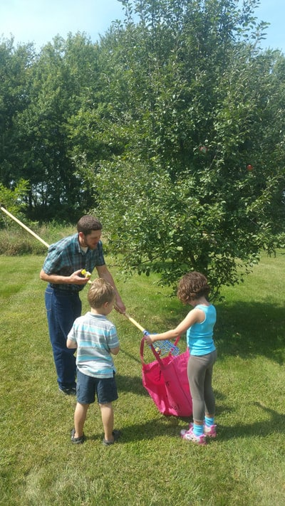 Picking Apples with an Apple Picker