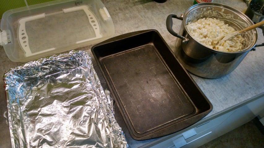 Preparing Casseroles