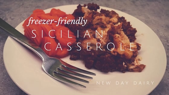Freezer Friendly Sicilian Casserole