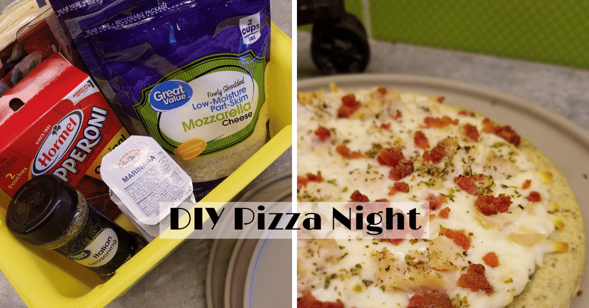 Pizza Ingredients and Homemade Pizza