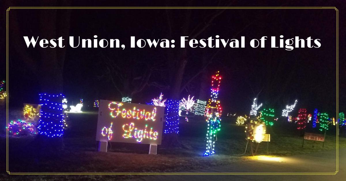 Holiday Lights Display Sign