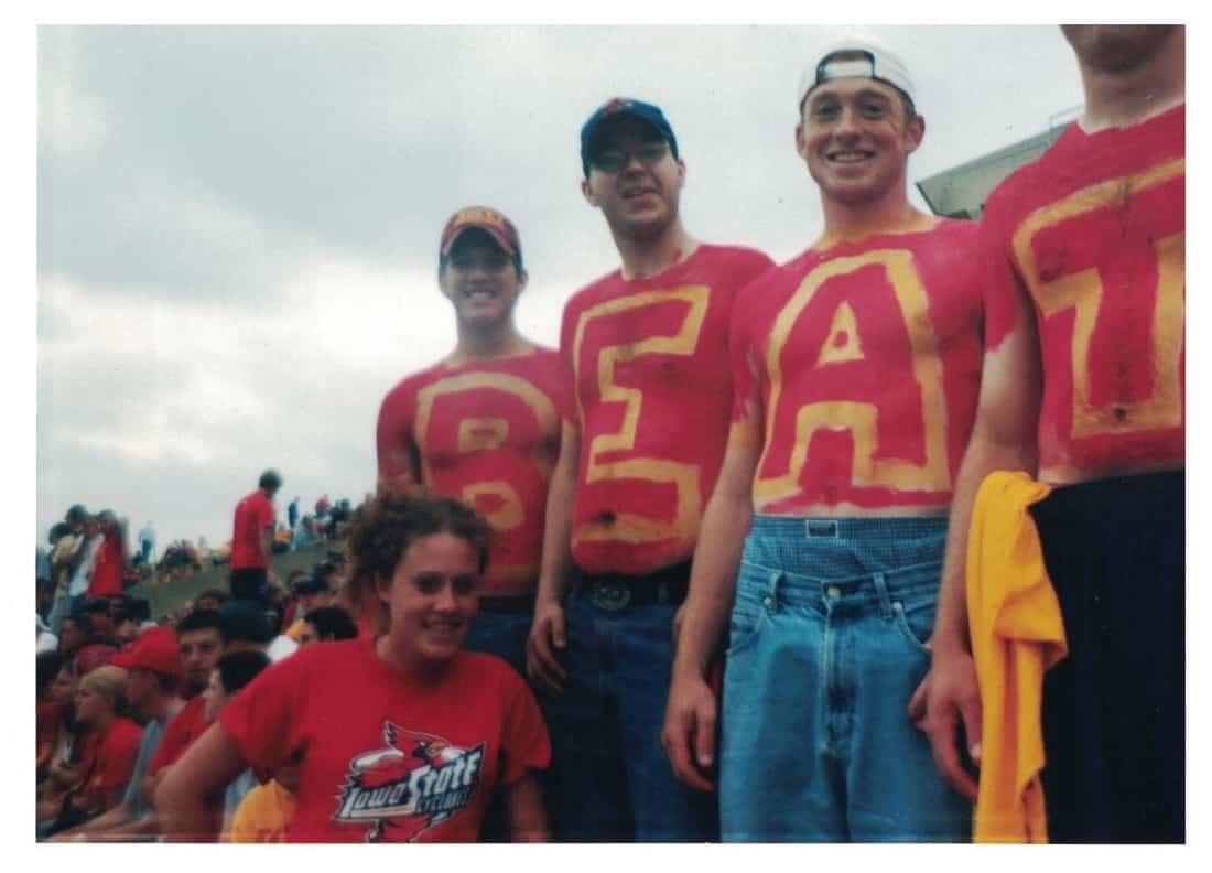 Beat Iowa Football Game